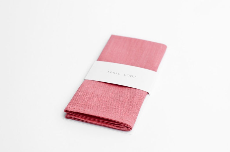 Powder pink pocket square Baby pink pocket square Orchid image 0