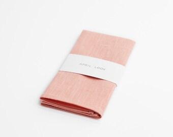 Rose quartz pocket square - MADE TO ORDER