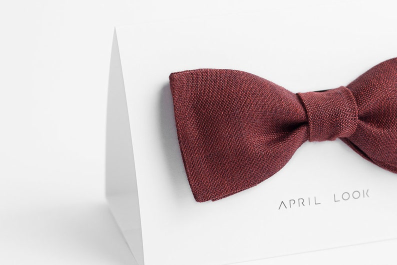 Men/'s bow ties Red grooms bow tie and necktie Dark red bow tie Maroon bow tie Cherry red bow tie Wine red bow tie Terracotta bow tie