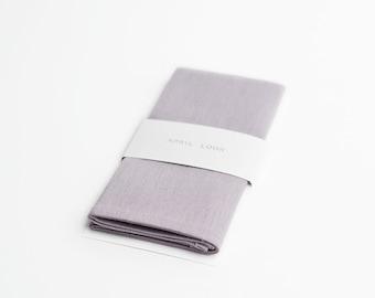 Lilac pocket square, handkerchief, provence