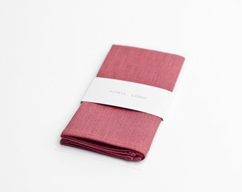 Rose pocket square - MADE TO ORDER