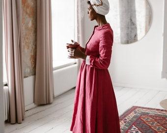 792509b9bcd Womens linen dresses