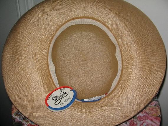 SUMMER STRAW HAT, Mr. John, Kentucky Derby, Tag A… - image 4