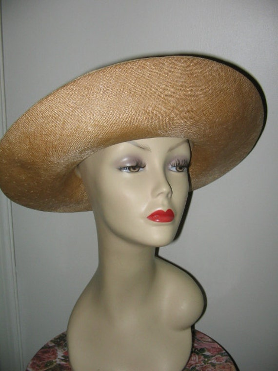 SUMMER STRAW HAT, Mr. John, Kentucky Derby, Tag A… - image 3