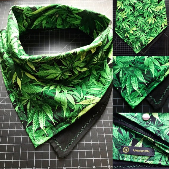 Made To Order-Ganjandana-Ganja Fabric Snapback Bandana-Snowboard-Ski Mask-Snow Scarf-Cotton