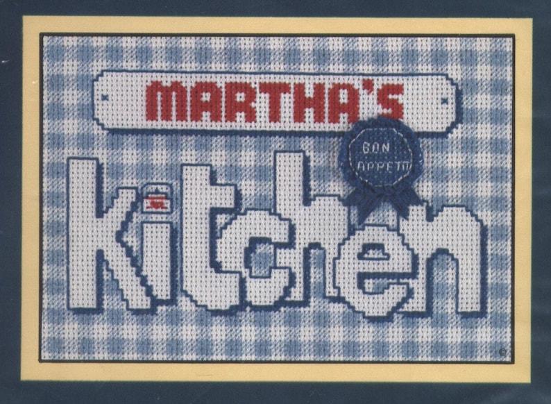 Blue Ribbon Kitchen Counted Cross Stitch Kit Unopened