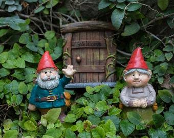 Fairytale Gift, Welcome Gnome, Garden Gnome Photo, Gnome Print, Gnome Art, Whimsical Art, Nursery Photo, Fairy Garden Photography