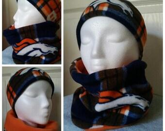 dd98ec15a Denver Broncos Headband  Neck warmer sets. Denver Broncos Neck Warmer.  Broncos Ear Warmer. Broncos Ear Muff. One size fits most