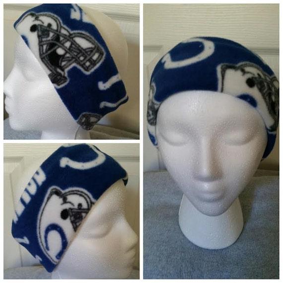 b54b3de8 Indianapolis Colts Fleece Headband, Colts Ear warmer , Colts Headband.  Colts Ear Muff. for Adult or Kids