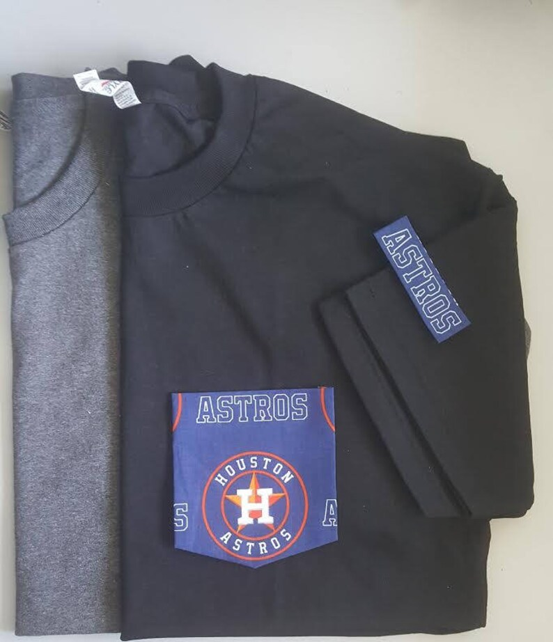 Houston Astros Pocket T-Shirt Astros T-Shirt Men s  56a11f539