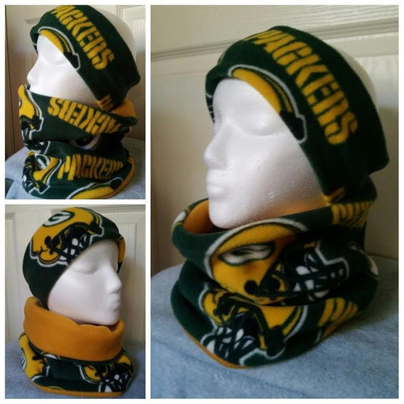 Green Bay Packers Football Fleece Scarf GO PACKERS!!!!