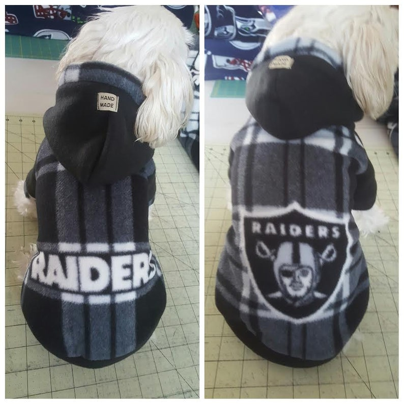 save off 792f7 ab8a8 Small Breed Dog/Cat Football Fleece Hoodies, Sweater for Small breeds Dogs  Size S.M.L.XL.XXL (pls check the size before order)