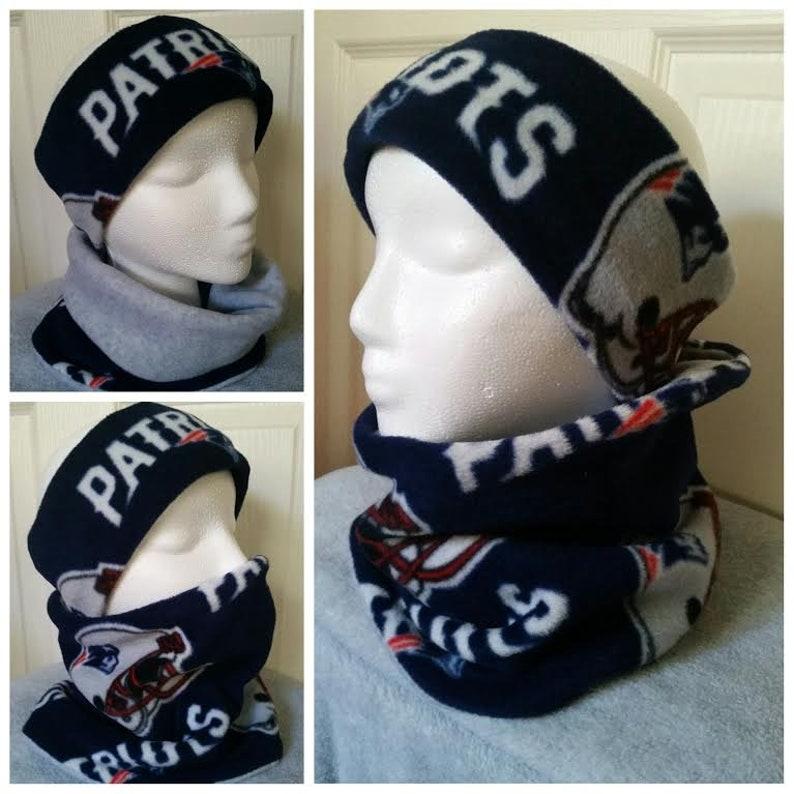 13ce17284d9 New England Patriots Unisex Headband and Neck Warmer. Patriots