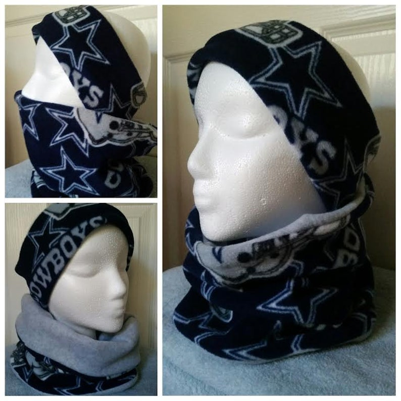 ac7bc4fd6 Dallas Cowboys Headband   Neck warmer sets. Cowboys Neck