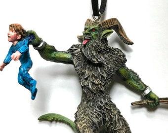 Krampus Ornament, version 3