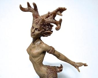 Faun Statue
