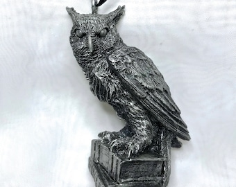 Horned Owl Ornament