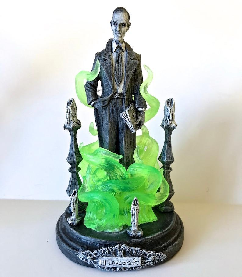 H.P. Lovecraft Statue designed with Abigail Larson image 0