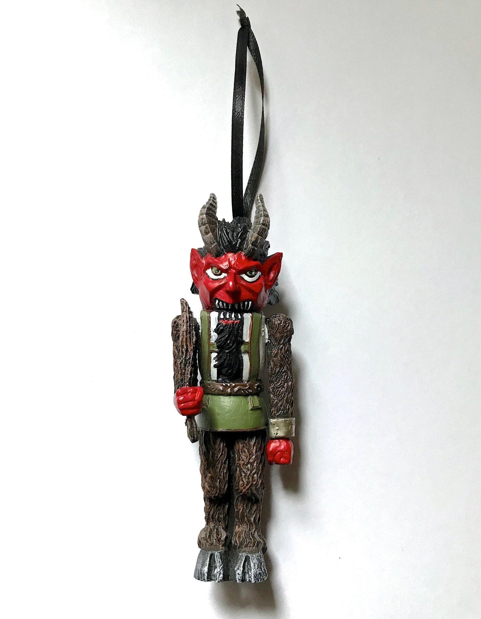 Krampus Nutcracker Ornament, Full Color