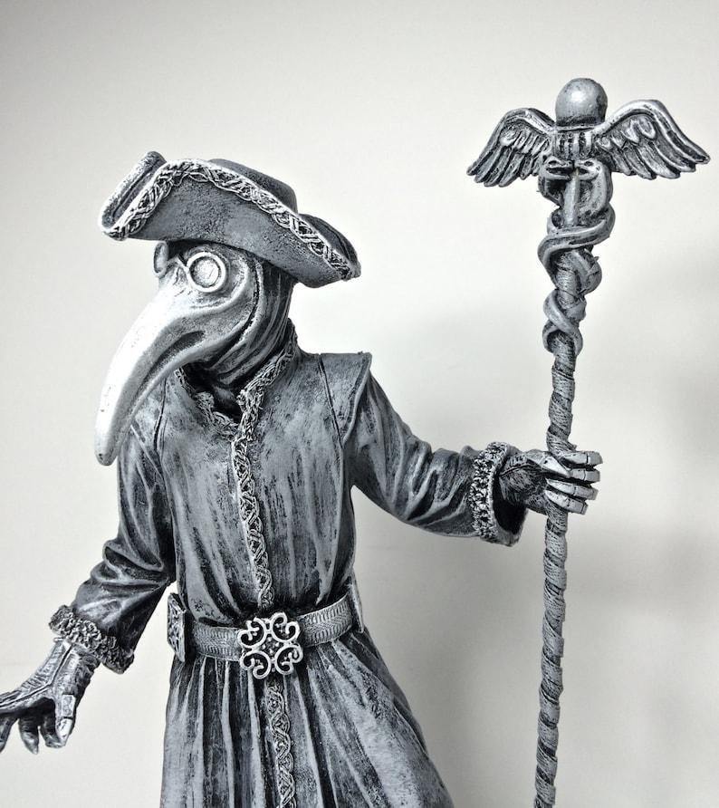 Venetian Plague Doctor Statue image 0