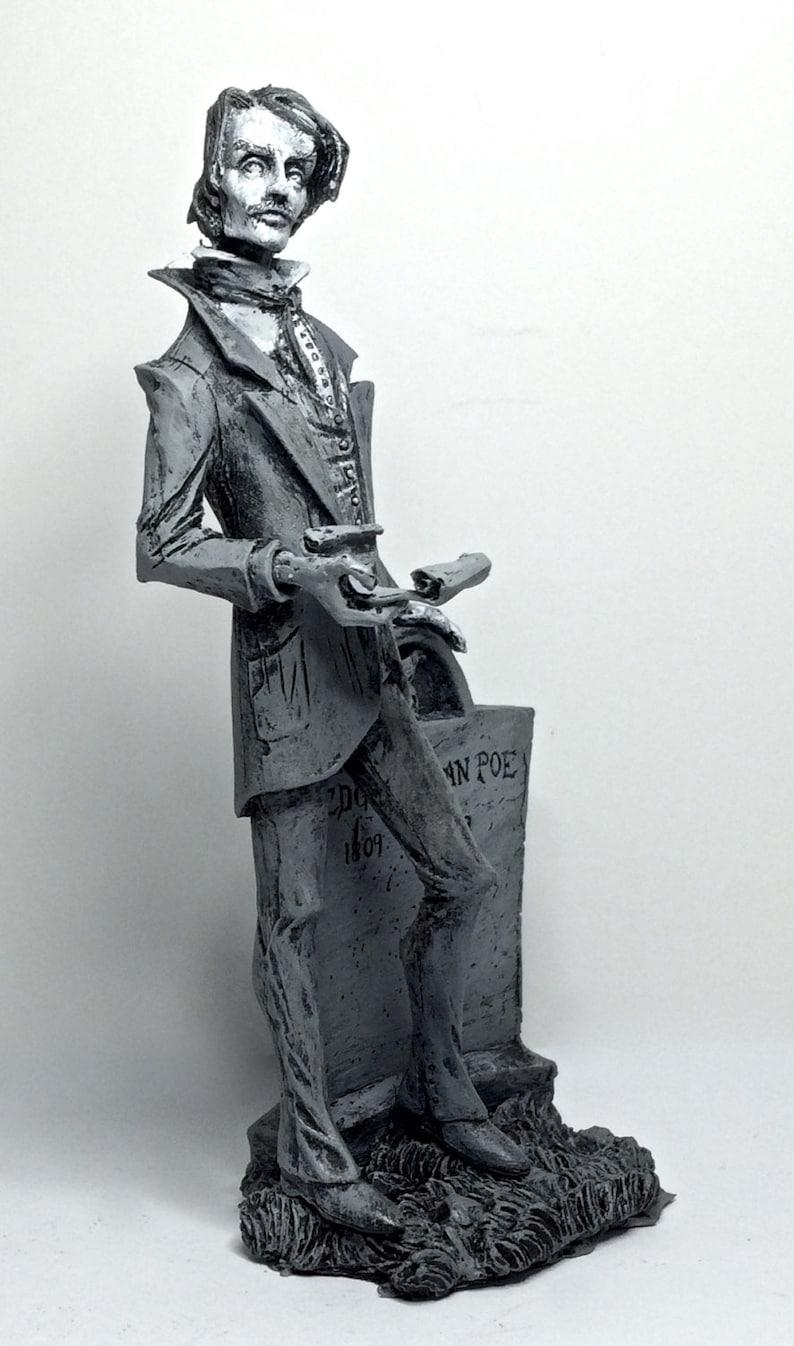 Edgar Allan Poe Statue 7 image 0