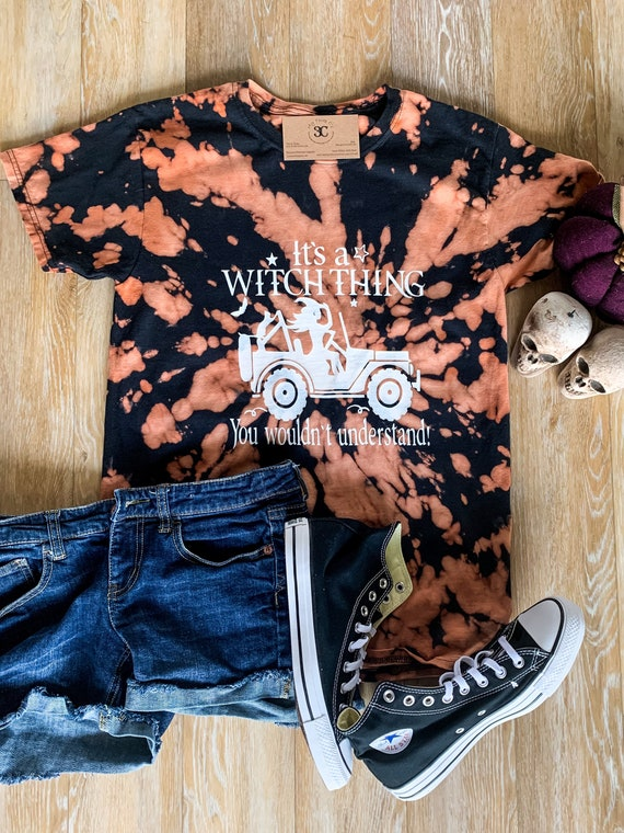 Its A Witch Thing Jeep Halloween Tee