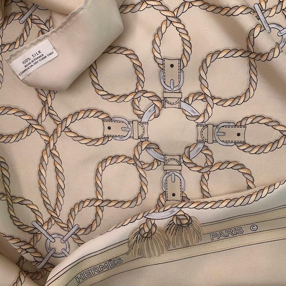 Vintage 70s Hermes Silk Scarf!!
