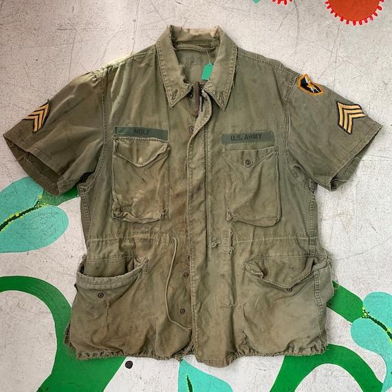 Original 60s Vietnam Era M65 Military Field Jacket