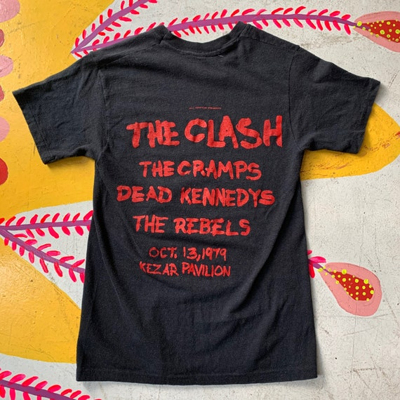 Vintage 70s The Clash, The Cramps and Dead Kennedy