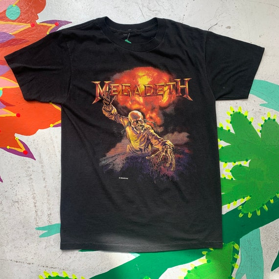 Vintage 80s Megadeth Band Tee!