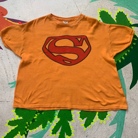 Vintage 1960s Scott Lester Superman Tee