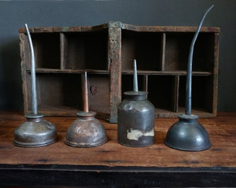 Oil cans vintage | Etsy