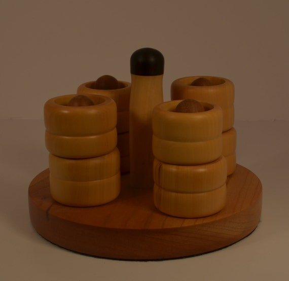Hand turned Ring stand