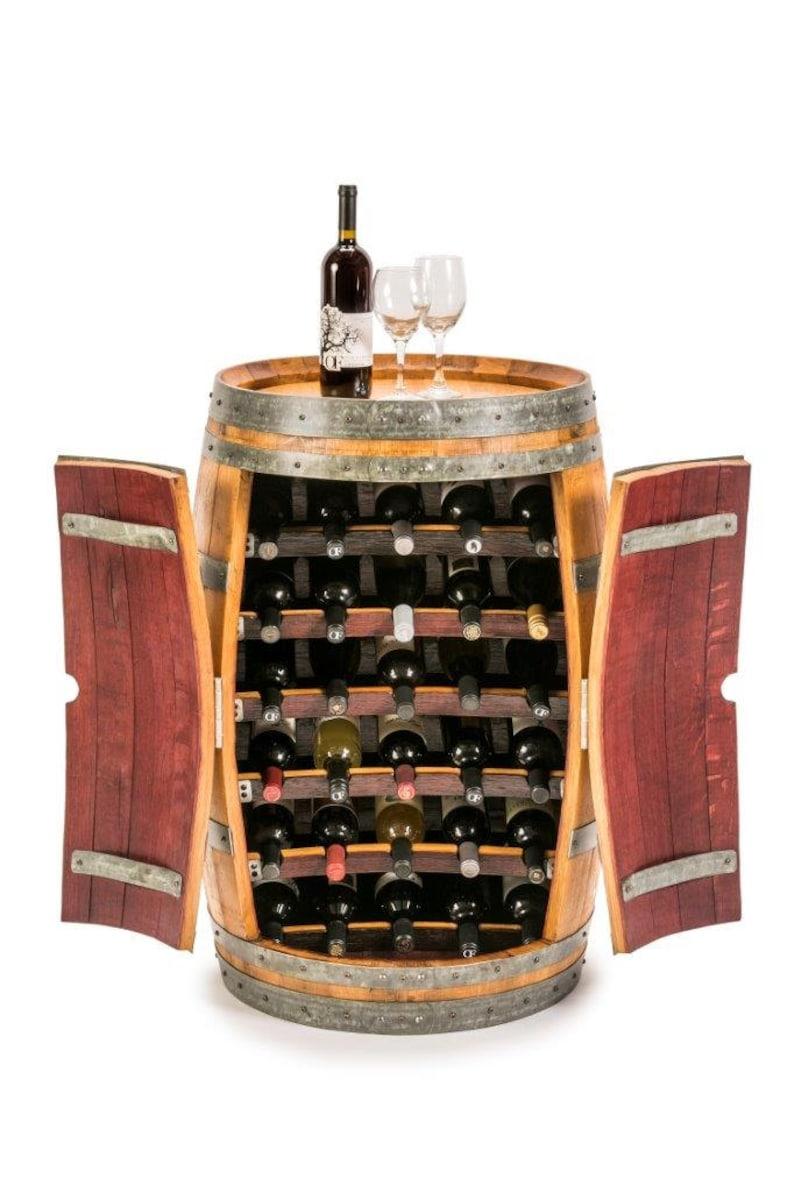 Barrel Wine Rack image 0