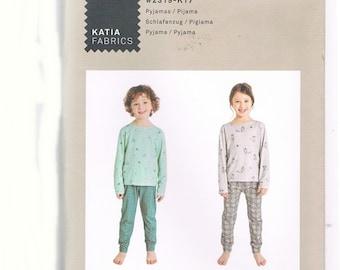 Paper Cut Pattern Pyjamas