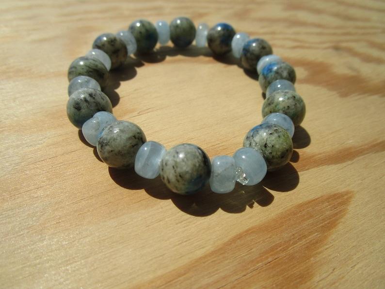 K2 Stone Aquamarine Bracelet seek your Truth!