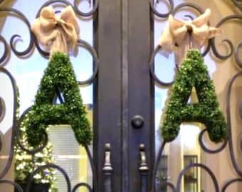 Double Door Wreath Etsy