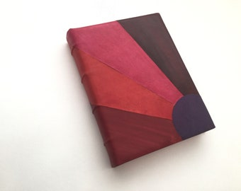 Mosaique Leather Journal - READY TO SHIP