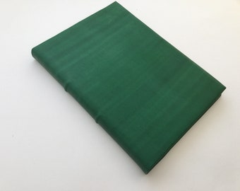 READY TO SHIP Green Leather Journal