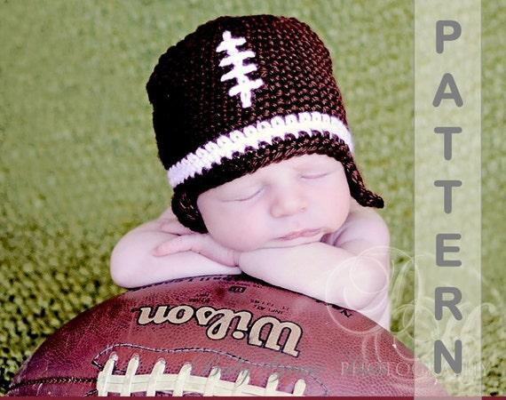Baby Football Hat Crochet Pattern Baby Shower Gift Baby Boy Etsy