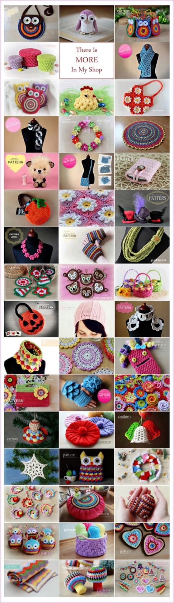Crochet Pattern - Crochet Christmas Bells (Pattern No. 020 ...