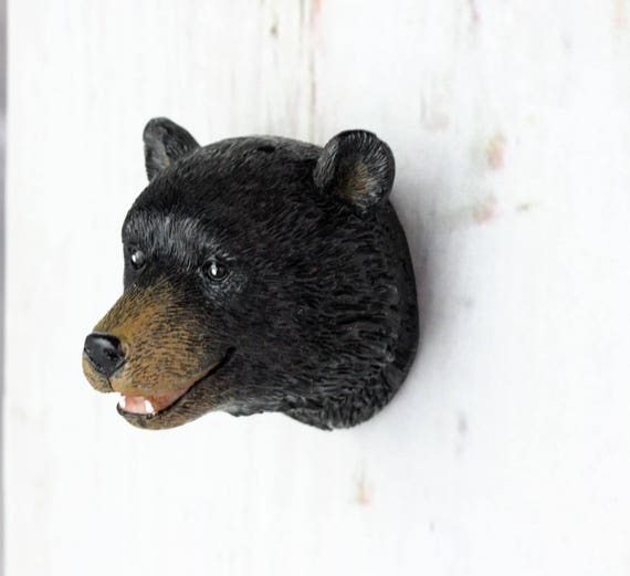 Bear Head Knob   Woodland Nursery   Cabinet Knobs   Drawer Pulls   Woodland  Knobs   Bear Nursery, Nursery Forest Decor, Farmhouse Style Chic From ...
