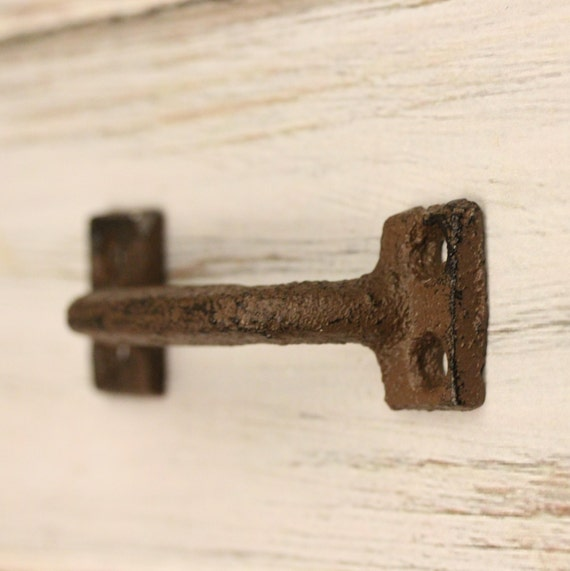 Wrought Iron Pulls Rustic Cabinet Knobs Farmhouse Style