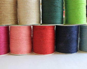 Burlap String - 13 Colors Available - 20 yards - Now in Black