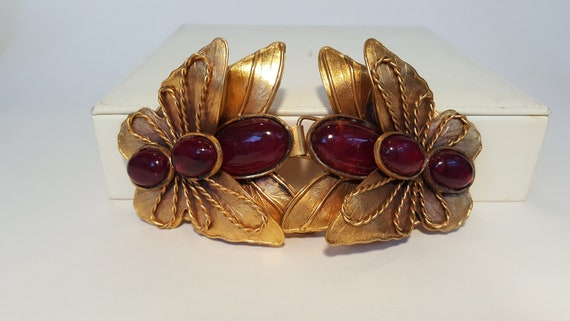 Enormous Statement Vintage Butterfly Belt Buckle