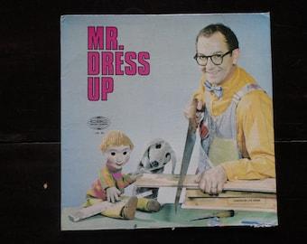 Mr. Dressup Dress Up-Ernie Coombs-1967-Vintage Record