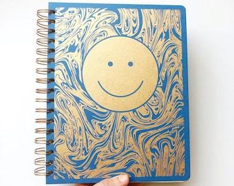 December 2021 - January 2023 Smiley Planner, Sapphire Blue