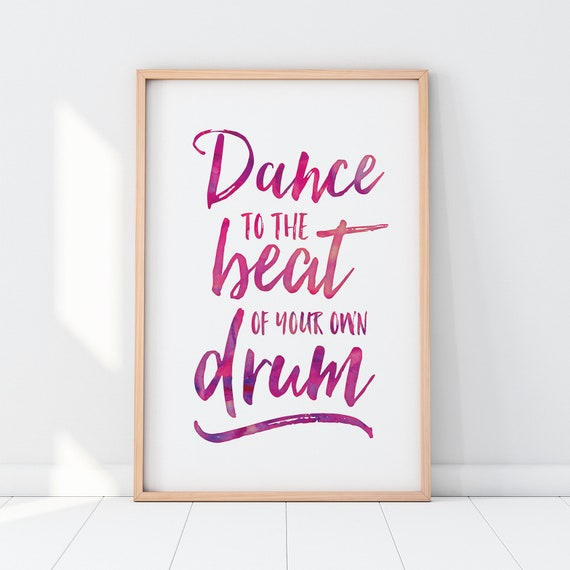 Fine Art Print Dance to my beat