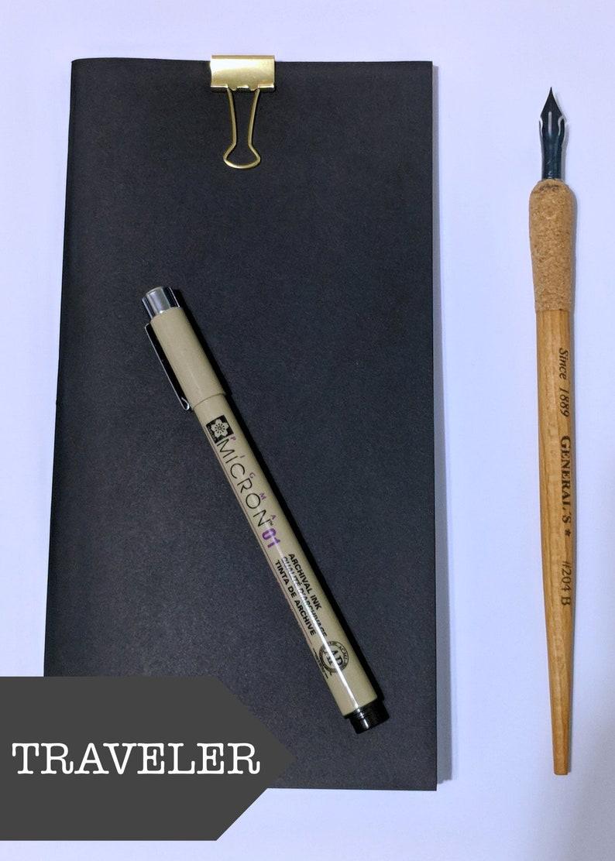 Blank Traveler's Notebook Refill // Standard Midori image 0