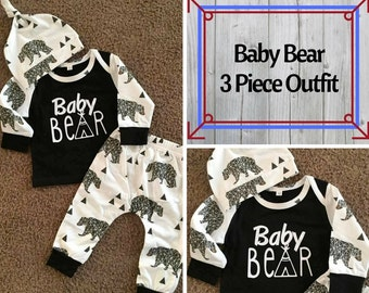 2d14750d4f3a Baby Bear Outfit Baby Boy Outfit Hunting Tee Bear Tee Original Baby Boy  Outift Baby Bear outfit Hunting Buddy Little man tee Baby Bear shirt